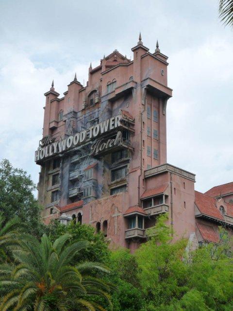 Hollywood Tower Hotel, Disneyland, Флорида