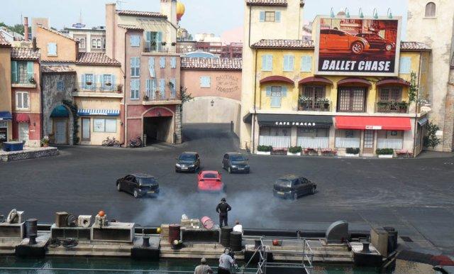 Шоу LIGHTS! MOTORS! ACTION! Disneyland