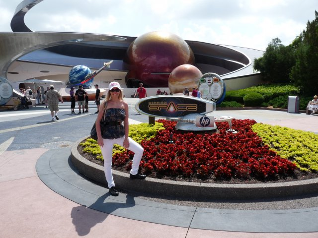 Mission Space, Disneyland Epcot, Флорида