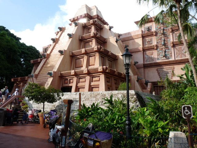 Мексика, Disneyland Epcot, Флорида, США
