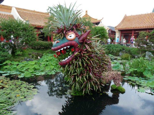 Китай, Disneyland Epcot, Флорида, США