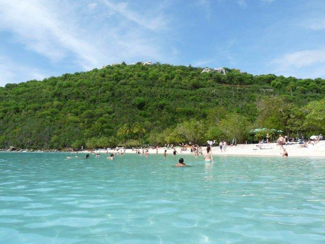 Пляж Magan's Bay, остров Святого Томаса