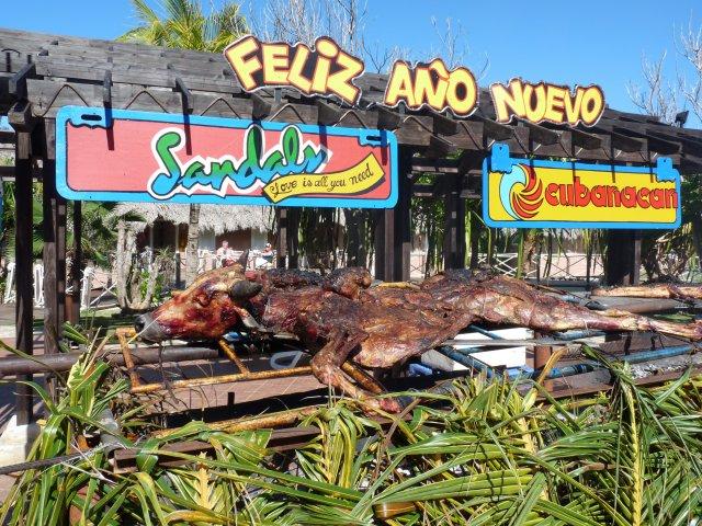 Гриль из быка, Sandals Royal Hicacos 5*, Варадеро