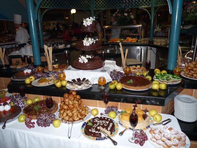Сладкий стол, основной ресторан, Sandals Royal Hicacos 5*, Варадеро