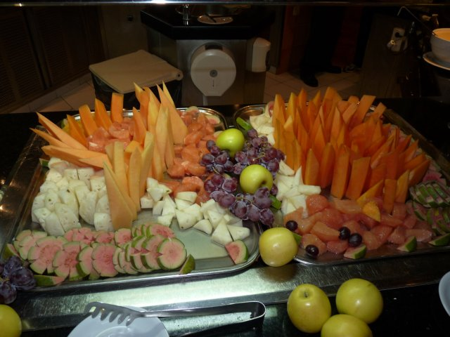 Фрукты в основном ресторане, Sandals Royal Hicacos 5*, Варадеро