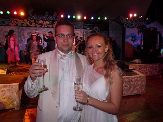 Новогодняя ночь в Sandals Royal Hicacos, Куба