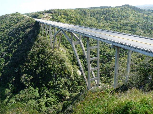 Мост Пуэнте-Бакунаягуа, Матансас - Гавана