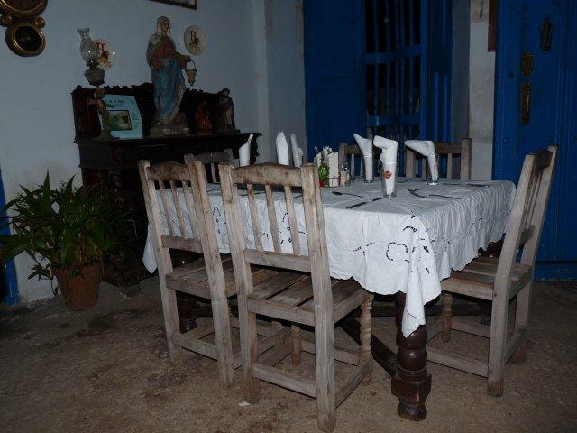 Ресторан, переделанный из церкви, Тринидад