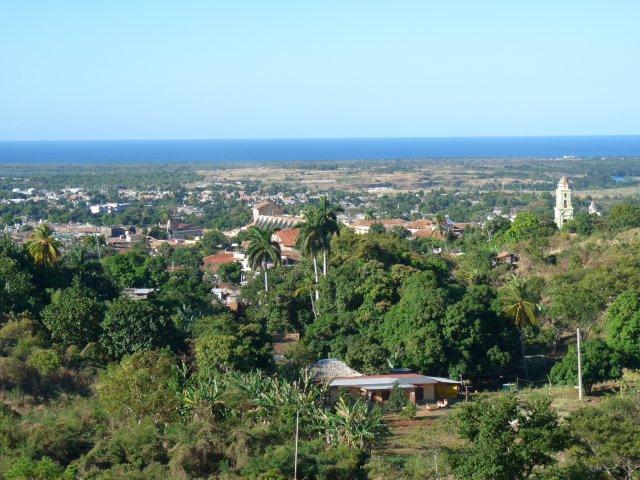 вид из отеля Las Cuevas 3*, Тринидад