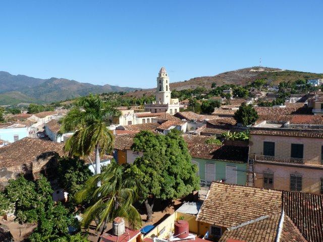 Вид с колокольни церкви Сан Франциско, Тринидад