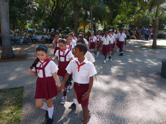 Пионеры на Кубе