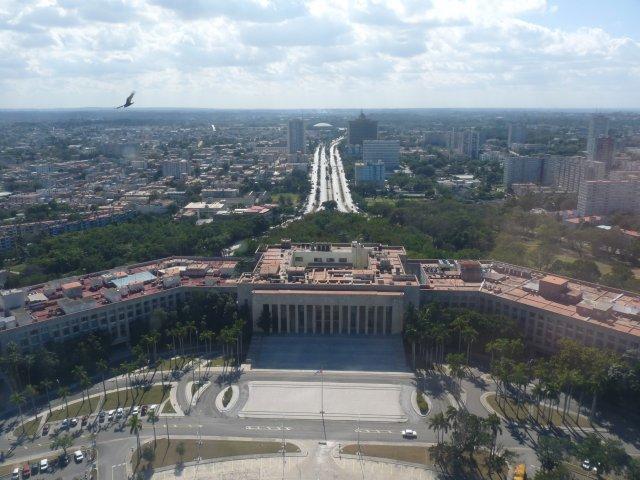 Вид с башни на Гавану