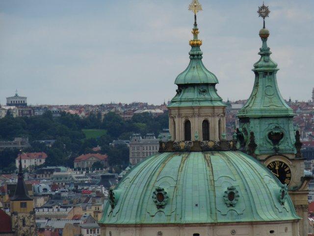 Вид на Прагу с обзорной площадки, Чехия
