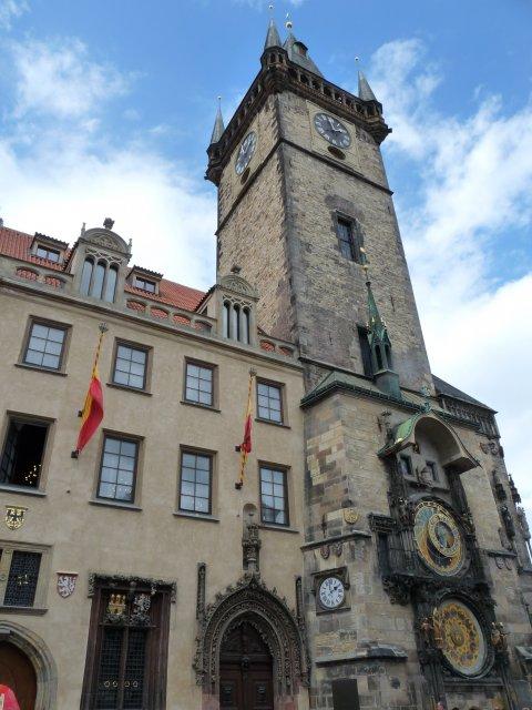 Астрономические часы на ратуше, Староместская площадь Праги, Чехия