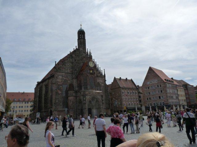 Рыночная площадь в Нюрнберге, Германия