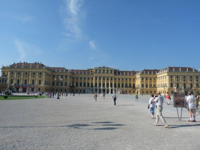 Дворец Шенбрунн в Вене, Австрия