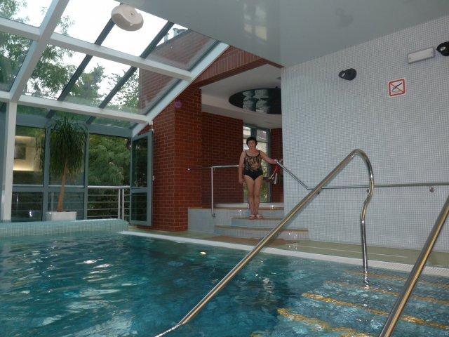 Бассейн отеля Royal Regent 4*, Карловы Вары, Чехия