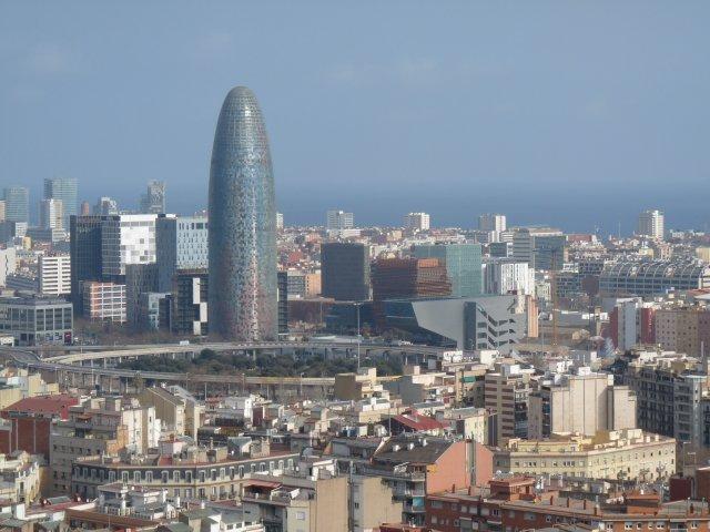 Вид на Барселону, Испания