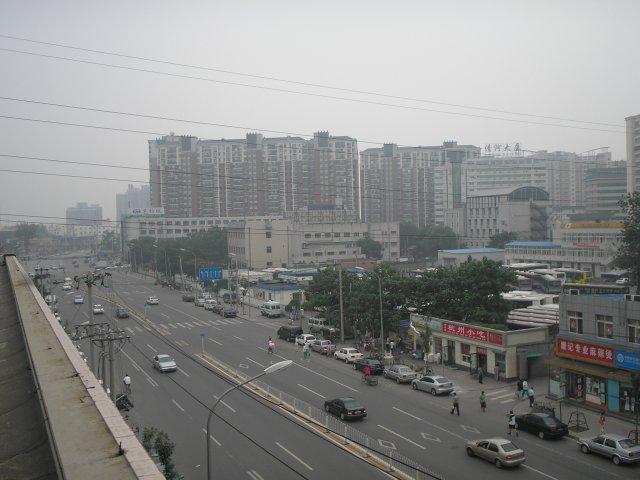 Пекин, вид из отеля