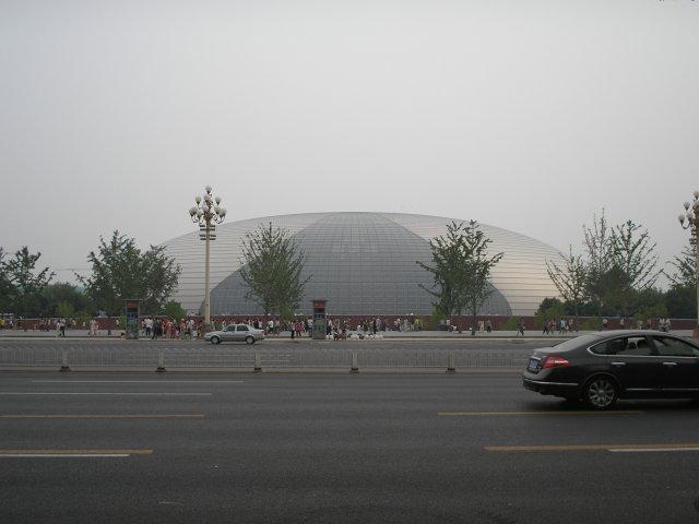 Китайский национальный центр исполнительских искусств, Пекин, Китай