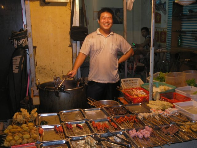 уличная еда, Пекин, Китай