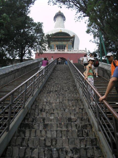 Белая пагода, Парк Бейхай, Пекин