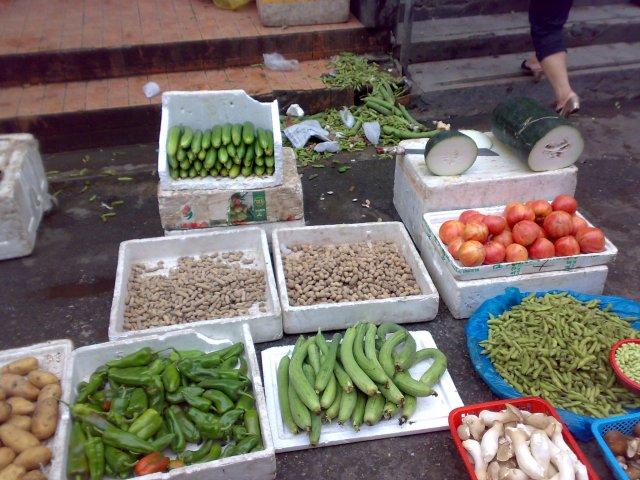 Овощи, Шанхай