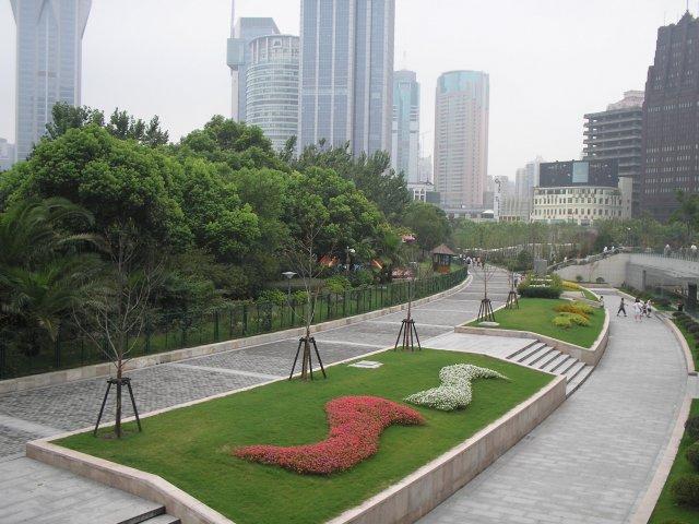 Народная площадь, Центр Шанхая