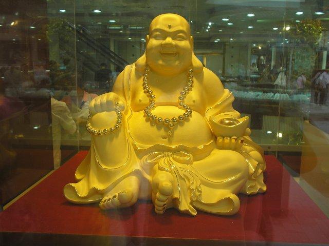 Смеющийся будда Хотэй, Китай