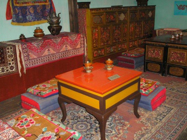Тибетский чайный домик, Китай
