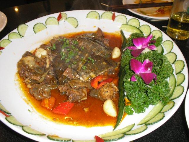 Блюдо из черепахи, Шанхай