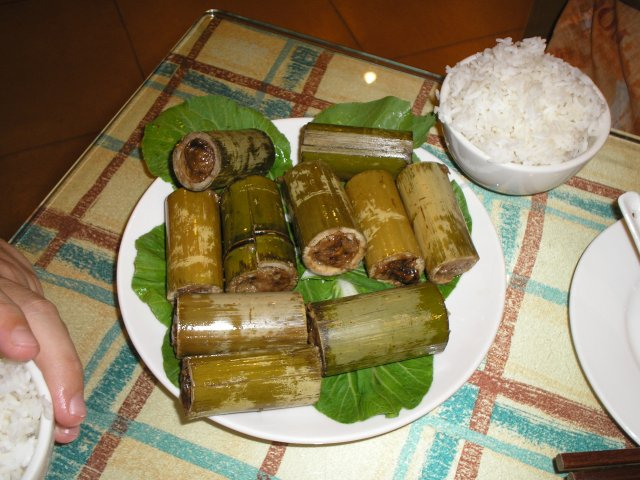 Свинина в бамбуке, Гуйлин