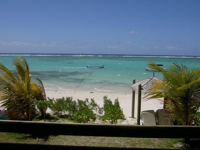 Пляж отеля La Palmeraie 3*, Маврикий