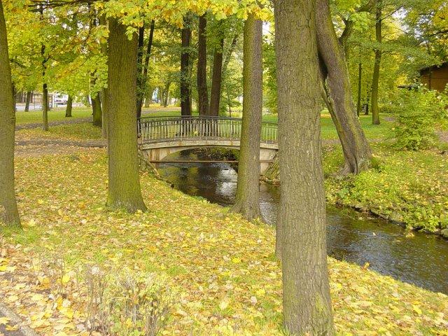 Парк в Риге, Латвия
