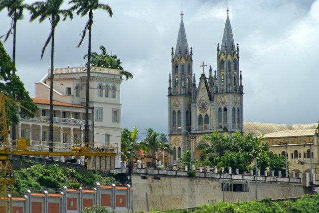 Порт в Малабо, Экваториальная Гвинея