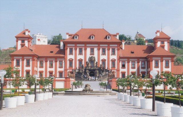 Тройский замок в Праге, Чехия