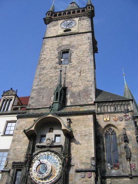 Астрономические часы в Праге, Чехия