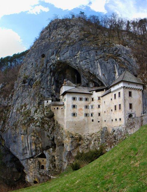 Предъямский град в Словении