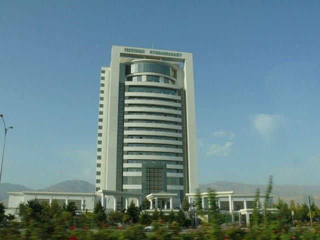 "Отель ""Президент"" в Ашхабаде, Туркменистан"