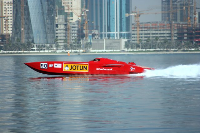 Выставка и соревнования яхт в Катаре