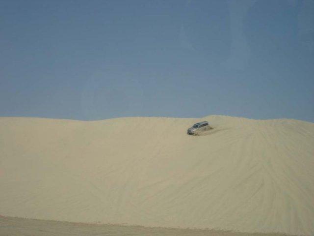 Джип-сафари в каатрской пустыне
