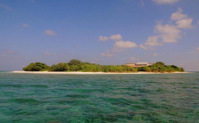 Остров атолла Раа, Мальдивы
