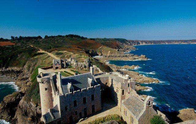 Замки Бретани, Франция
