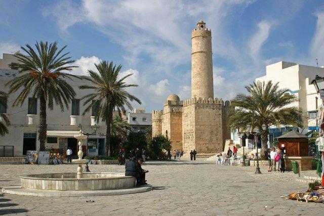Крепость-монастырь Рибат в Суссе, Тунис