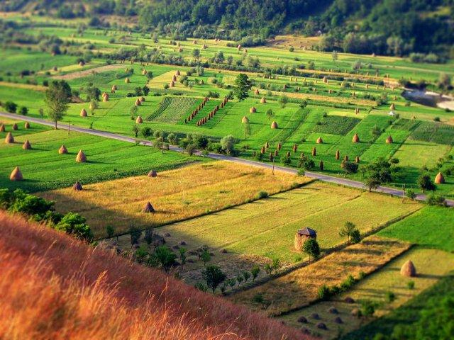 Сельские пейзажи Румынии