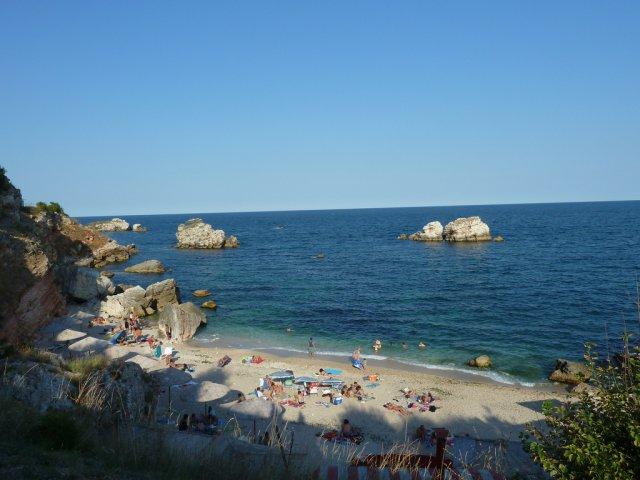 Пляж курорта Русалка, Болгария