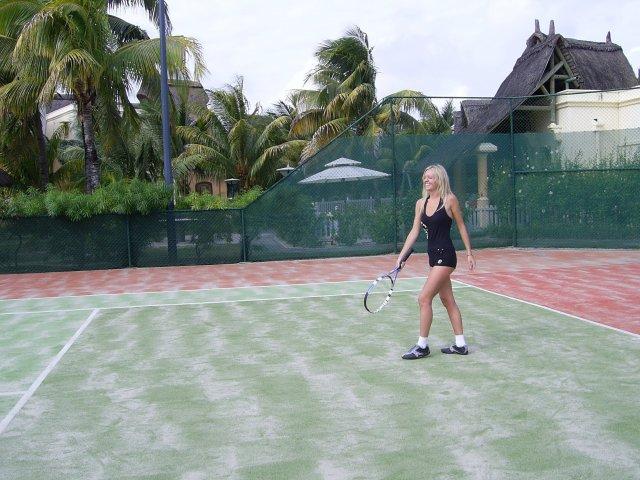 Теннис в отеле Beau Rivage 5*, Маврикий