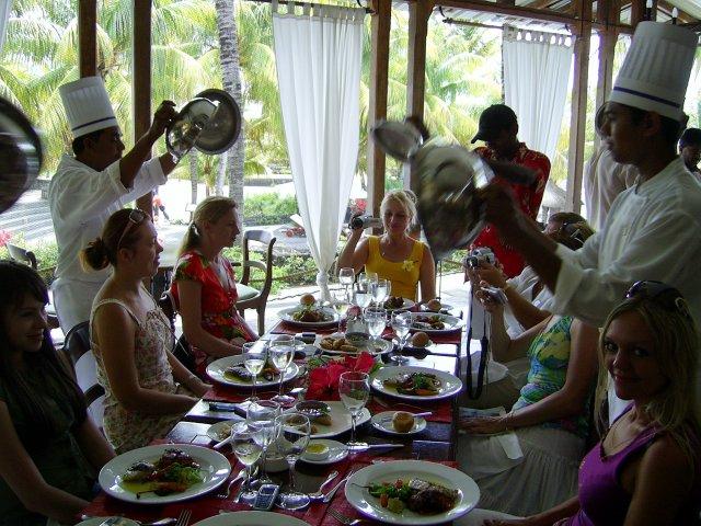 Ресторан на Маврикии