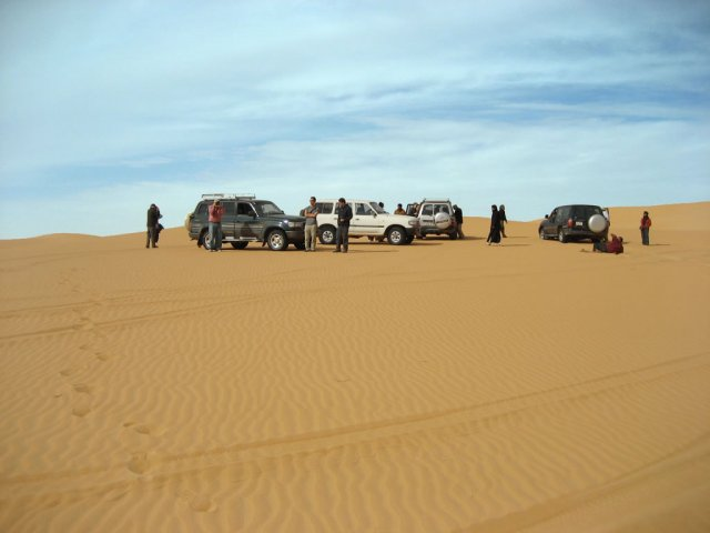 Экскурсия в Ливийскую пустыню, Сахара