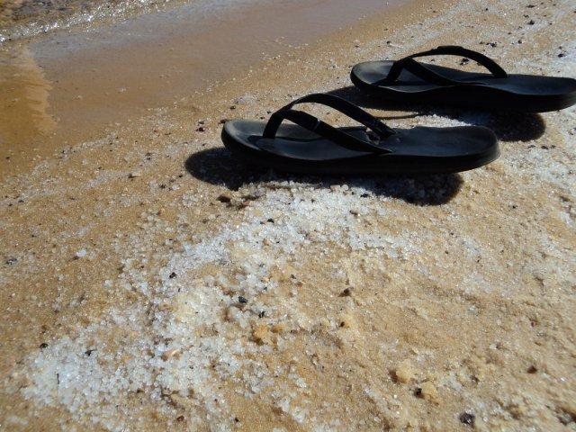 Соль на Мертвом море, Израиль